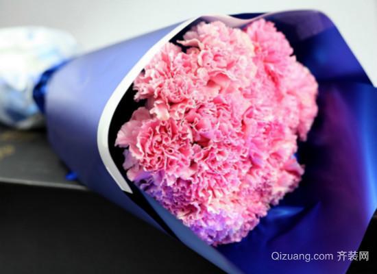 康乃馨花束效果图
