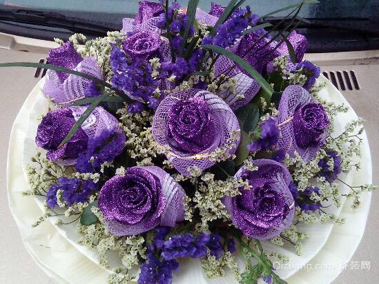 紫玫瑰欣赏图