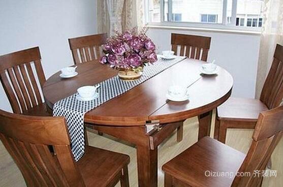 可折叠餐桌效果图