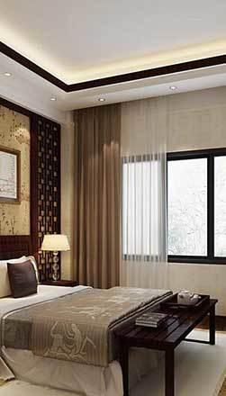 大户型中式风格卧室装修效果图鉴赏