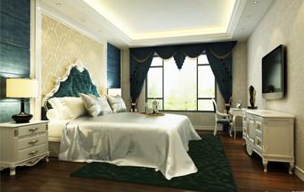 两室一厅浪漫法式卧室装修效果图