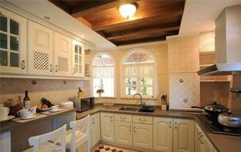 简欧厨房装修设计效果图