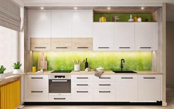 现代简约小户型厨房装修效果图欣赏