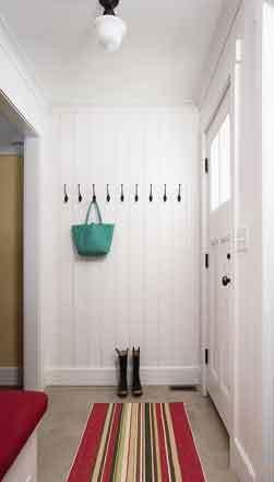 现代简约美式风格进门玄关鞋柜效果图