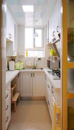 12平米现代风格小厨房装修效果图鉴赏