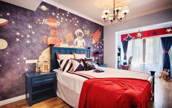 美式风格精致童趣儿童房装修效果图赏析