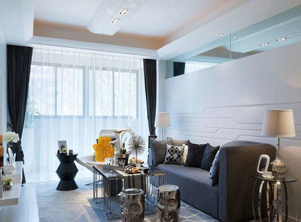 现代风格简约个性客厅装修效果图鉴赏