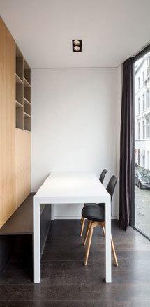 现代简约风格餐厅卡座设计装修效果图赏析