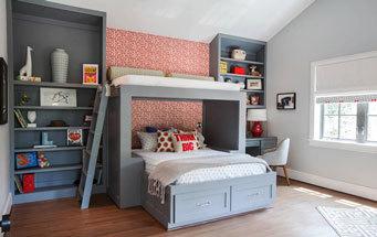 美式风格精美创意儿童房设计装修效果图鉴赏
