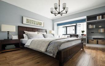 美式风格古典精致卧室装修效果图