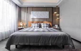 现代风格精美时尚卧室设计装修图
