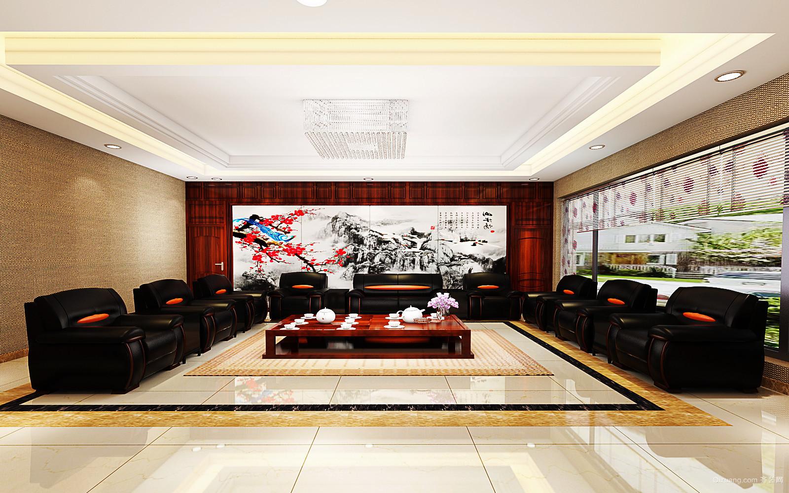 康大凤凰广场中式风格装修效果图实景图