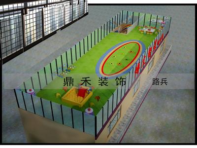 长治幼儿园装修设计案例