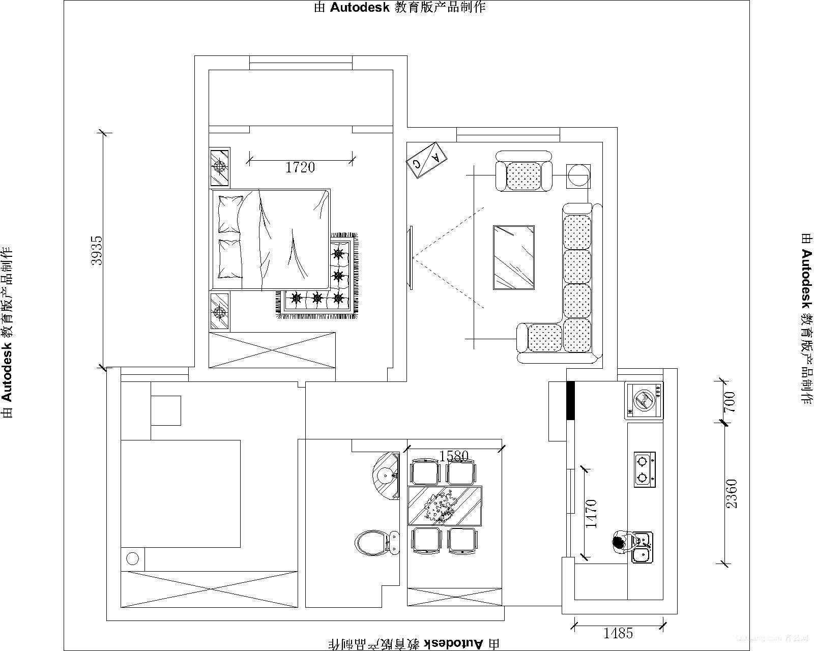 丽景蓝湾C区现代简约装修效果图实景图