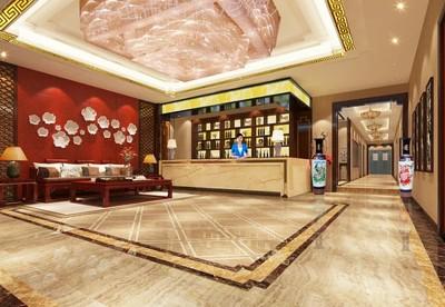 清远中式餐厅装修设计案例