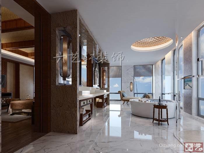 豪华酒店混搭风格装修效果图实景图
