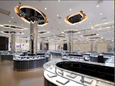 昆明昆明珠宝店装修效果图装修设计案例