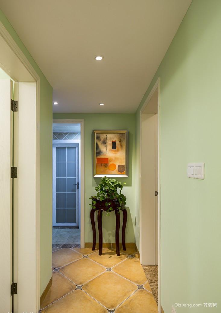 绿都紫荆华庭欧式风格装修效果图实景图
