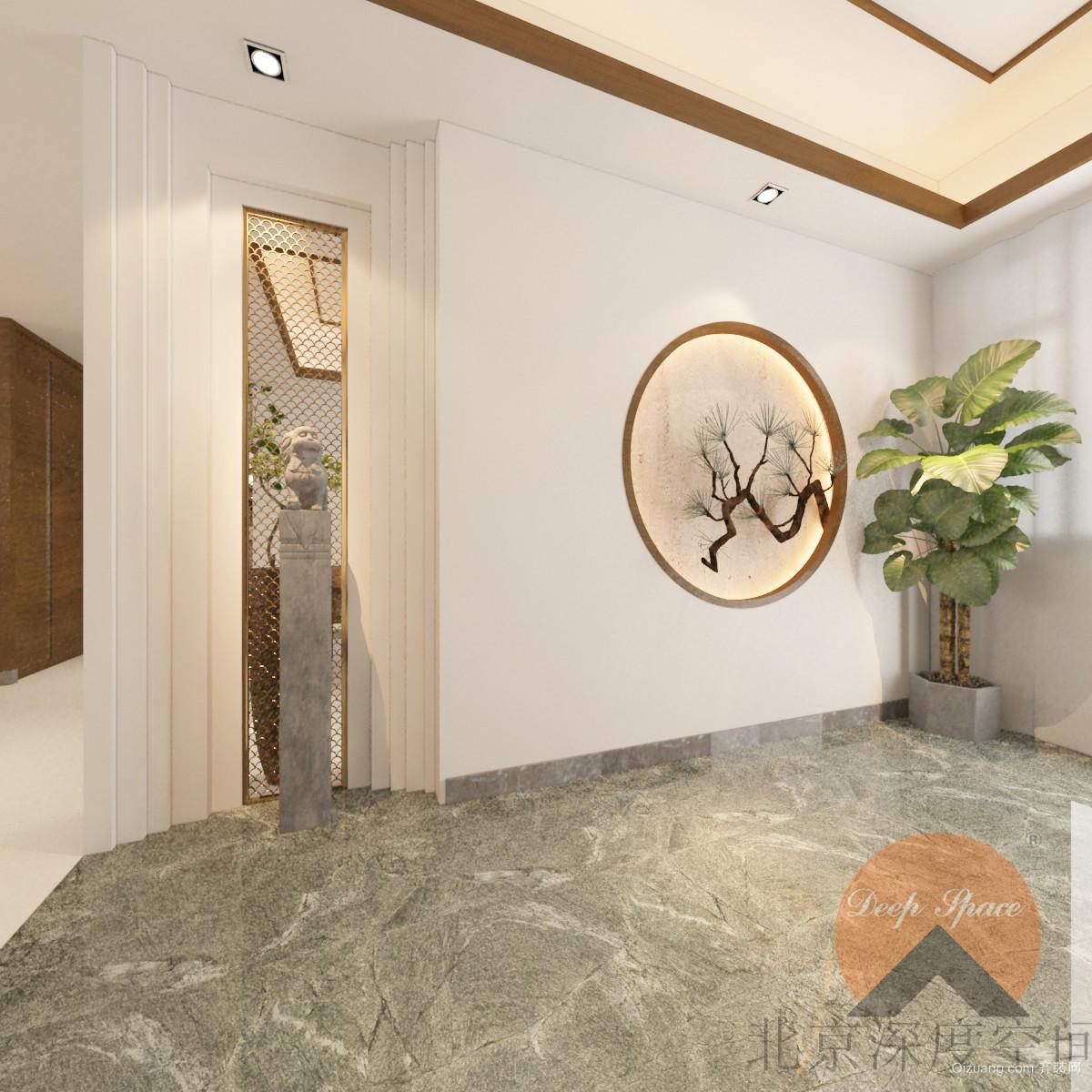 裕昌九州国际中式风格装修效果图实景图