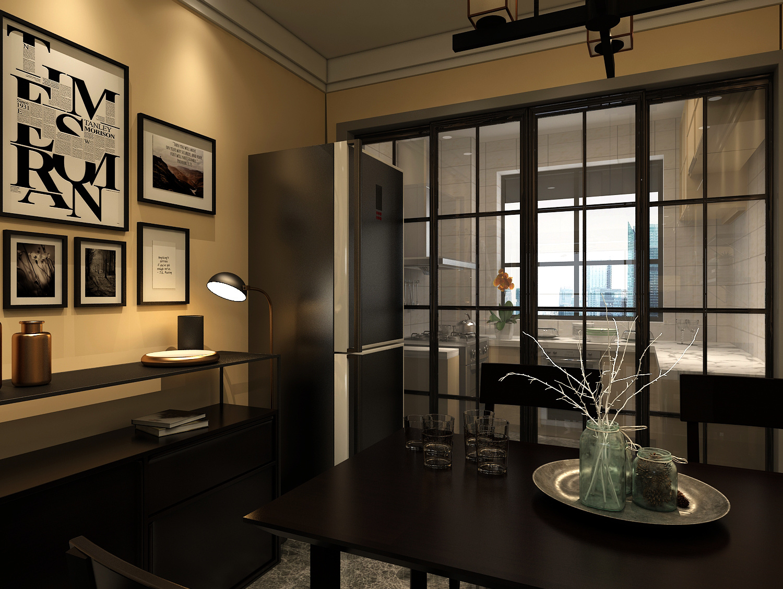 兰馨家园混搭风格装修效果图实景图