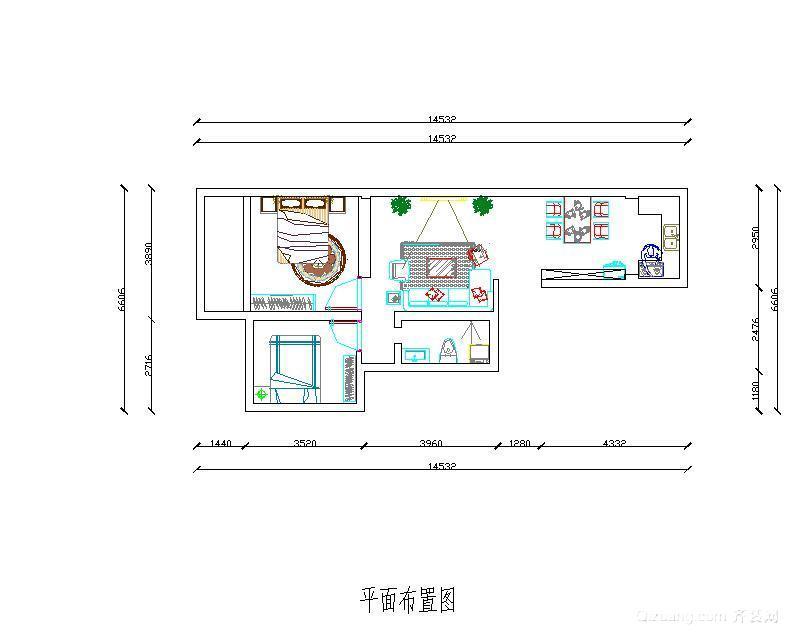 供热厂家属楼现代简约装修效果图实景图