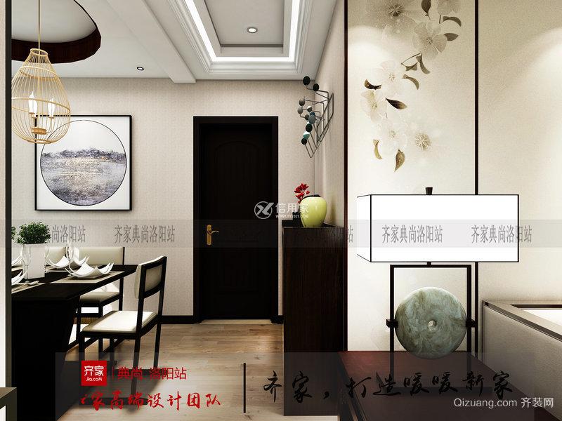 中弘卓越城中式风格装修效果图实景图