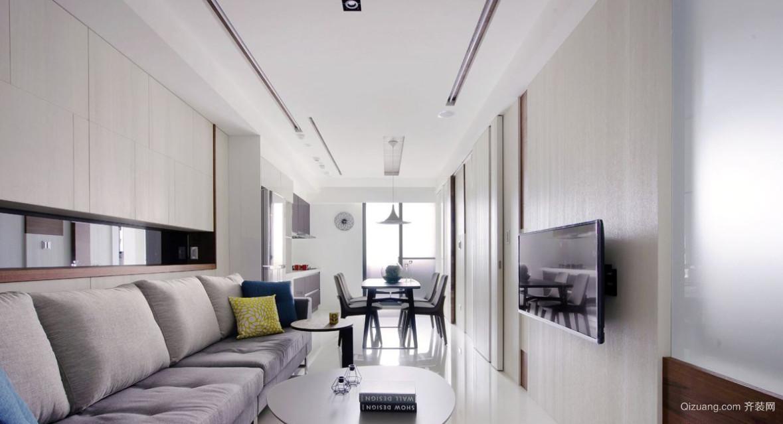 新裕家园现代简约装修效果图实景图