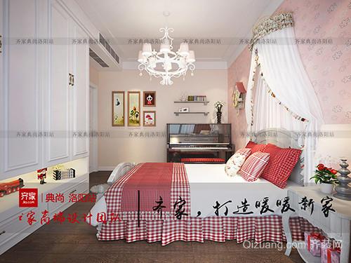 九洲城美式风格装修效果图实景图
