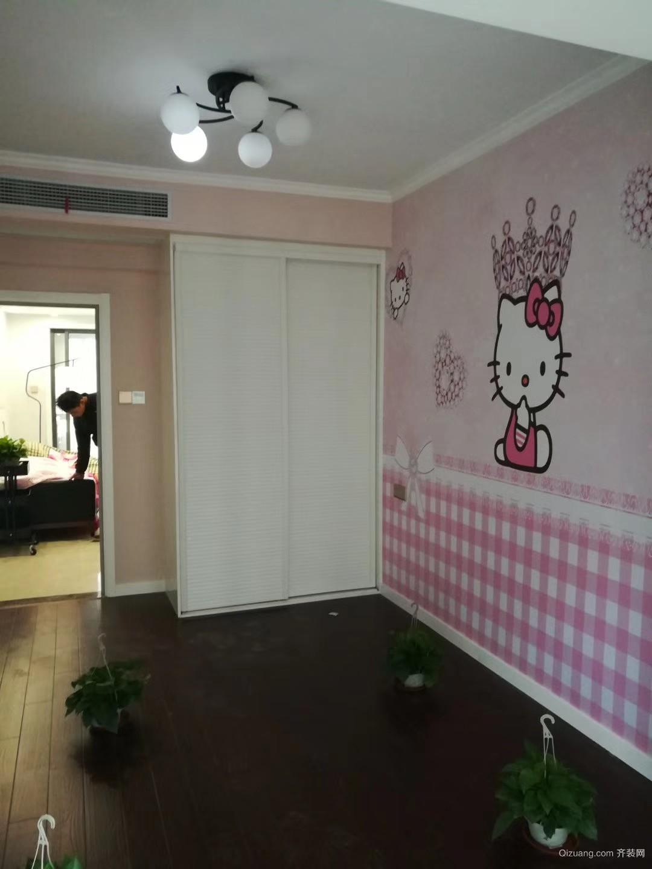 东方龙城采薇苑现代简约装修效果图实景图