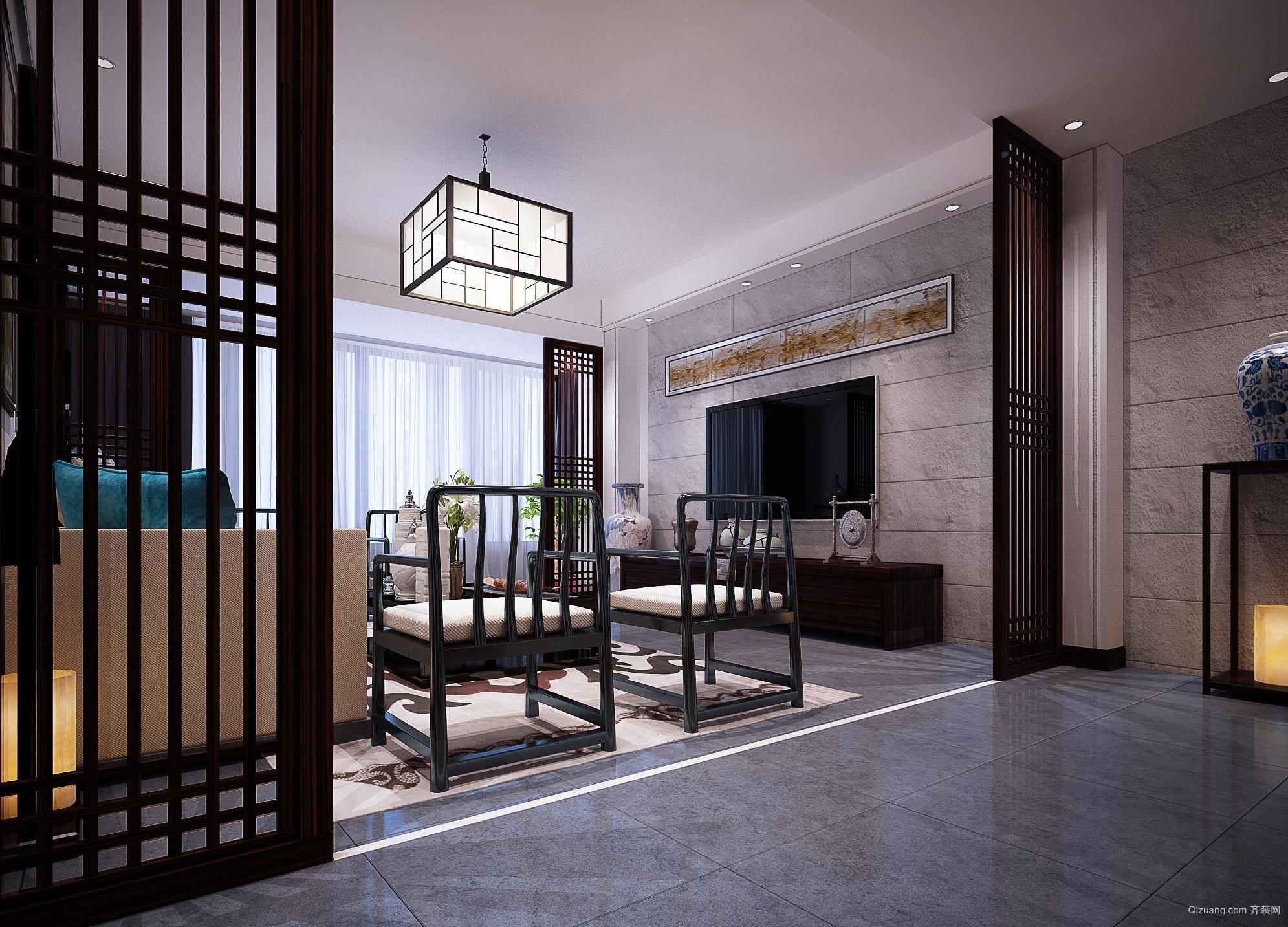新中式中式风格装修效果图实景图