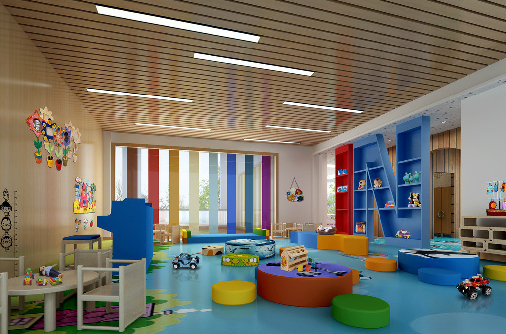 幼儿园墙面布置,爱上幼儿园!