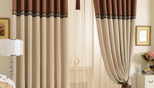中式窗帘中的一些搭配技巧