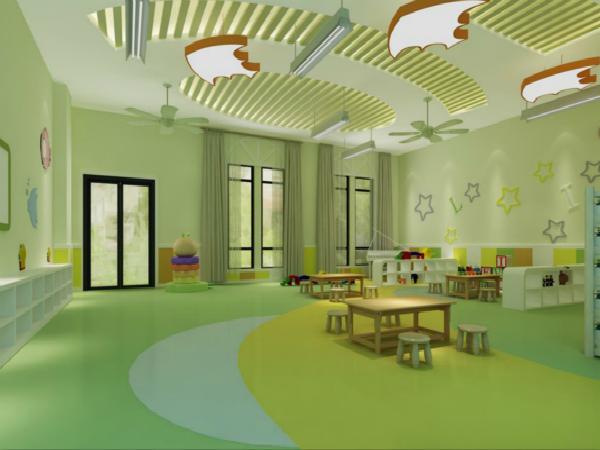 幼儿园教室墙面彩绘