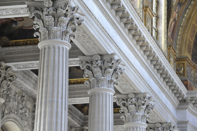 罗马柱是如何设计和安装的