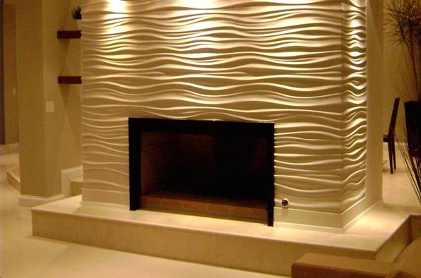 波浪板电视背景墙如何设计和打造?