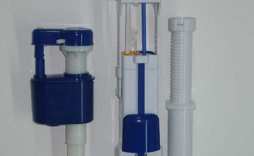 马桶水箱配件的种类与安装