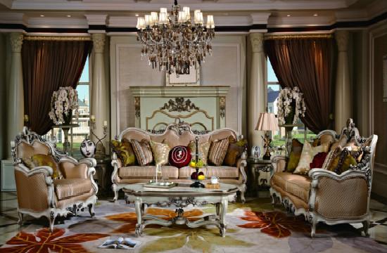 欧式古典家具中的不同风格,心动的感觉!