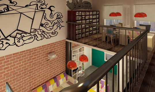 工作室设计,空间的多样化利用