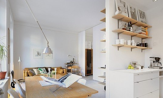 一居室装修中不错的设计