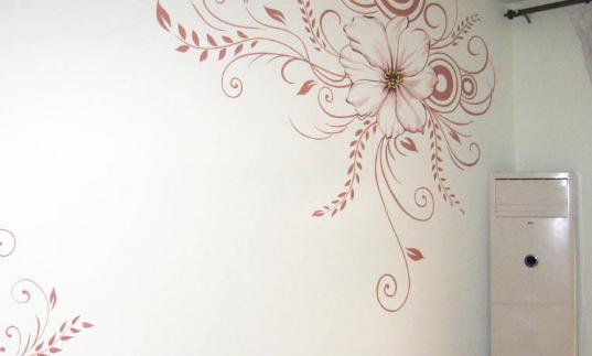手绘墙画的注意点和制作方法