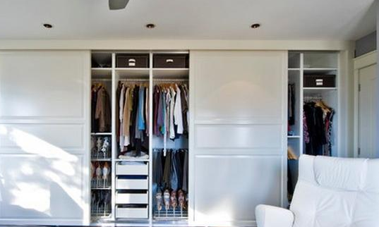 功能最大化的衣柜设计