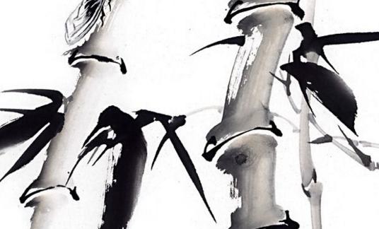 在国画当中,经常是使用的水墨画来表现出了竹子的气韵和形象,这一类的画在写意的花鸟画中占有着一个很重要的位置,它的绘画的特征就是以书入画,在画竹子的时候要有一个成竹在胸的准备,然后才可以在运用中挥洒自如,从而得以表现出竹子的气节与神韵。