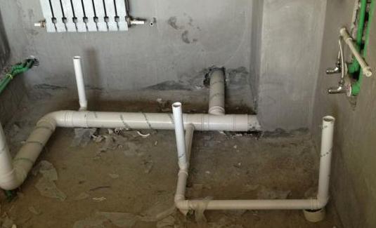 卫生间水管安装