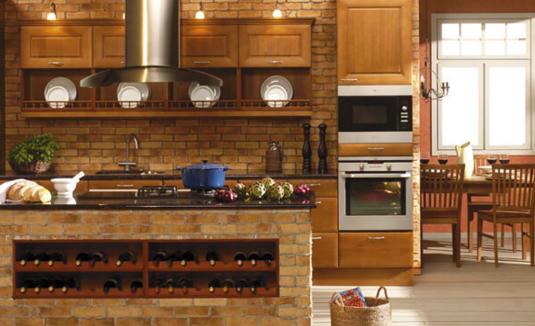 砖砌橱柜施工设计要点和优势