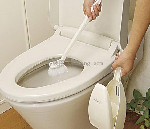 怎么清洗让马桶360度没有污渍