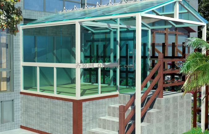 阳光房设计也能风情百变