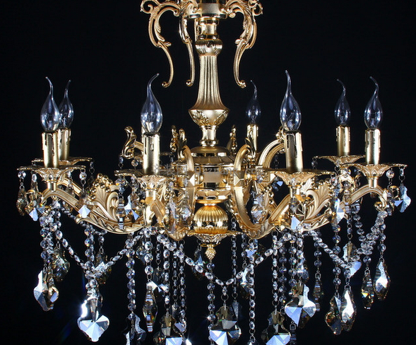 水晶灯更多的不是实用,是一种生活品味