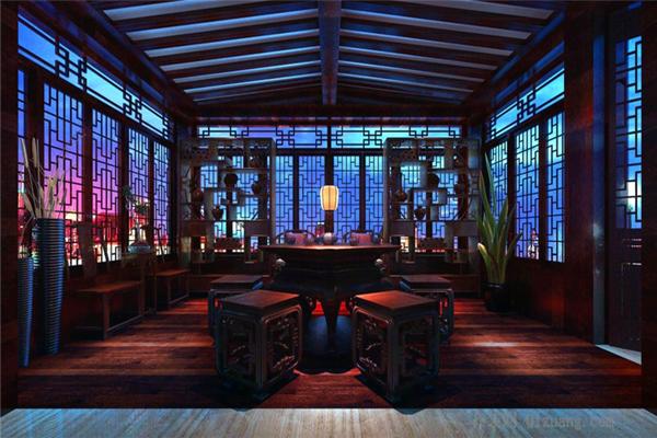 如何设计茶室!