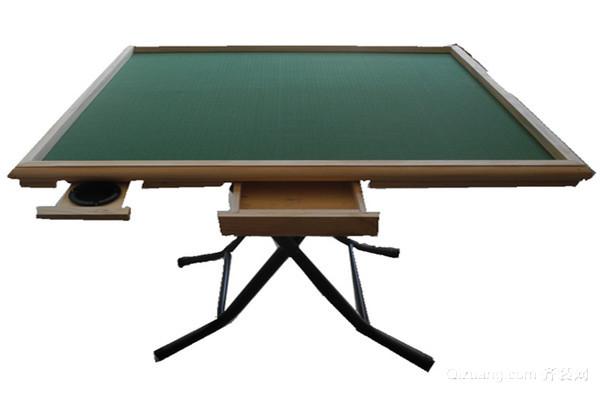 折叠麻将桌适不适合打麻将!
