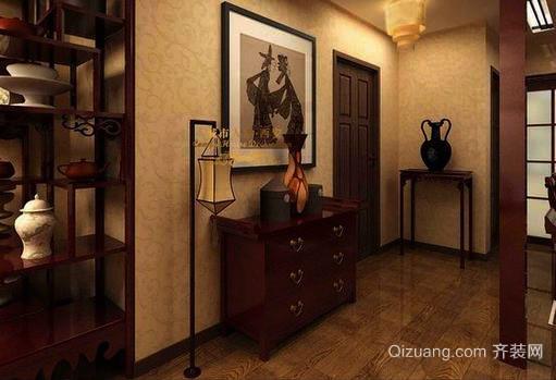 中式风格鞋柜